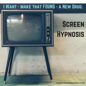 After Kimmie's recent introduction to afternoons spent watching movies, I now get why so many parents love Screen Hypnosis.