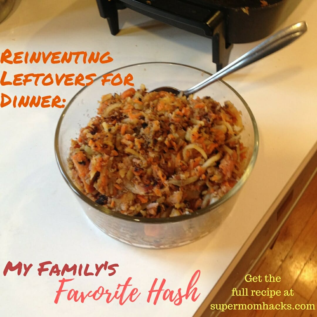 Some nights you need to make dinner by reinventing leftovers you already have in the house. If your fridge is full of them, hash can be the perfect answer.