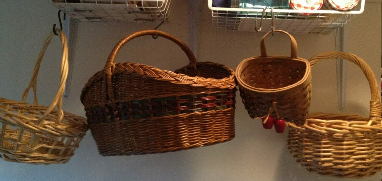 The Organized Home with Kids: Why Baskets Rock