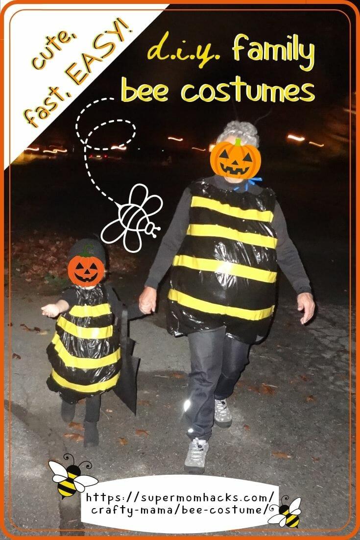 Easy DIY Halloween Costumes: Bumbling Bee Costume