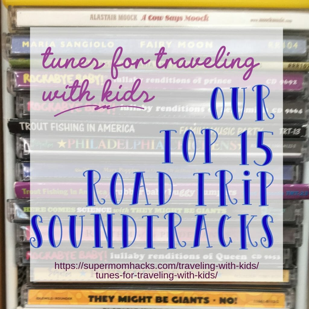 Before your next family road trip, treat yourselves to some tunes everyone can handle. It will make your journey a happier one for everyone involved.