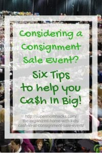 While a consignment sale event isn't for everyone, doing your homework and prepping carefully can help you make a decent profit on your outgrown baby stuff.