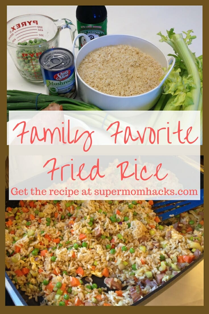 Need a quick one-pot meal your family will love? Fried rice is a family favorite in our house, thanks to this super-easy recipe I inherited from my grandmother.