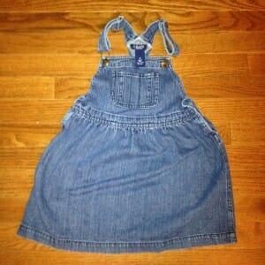 alternate potty-training dress