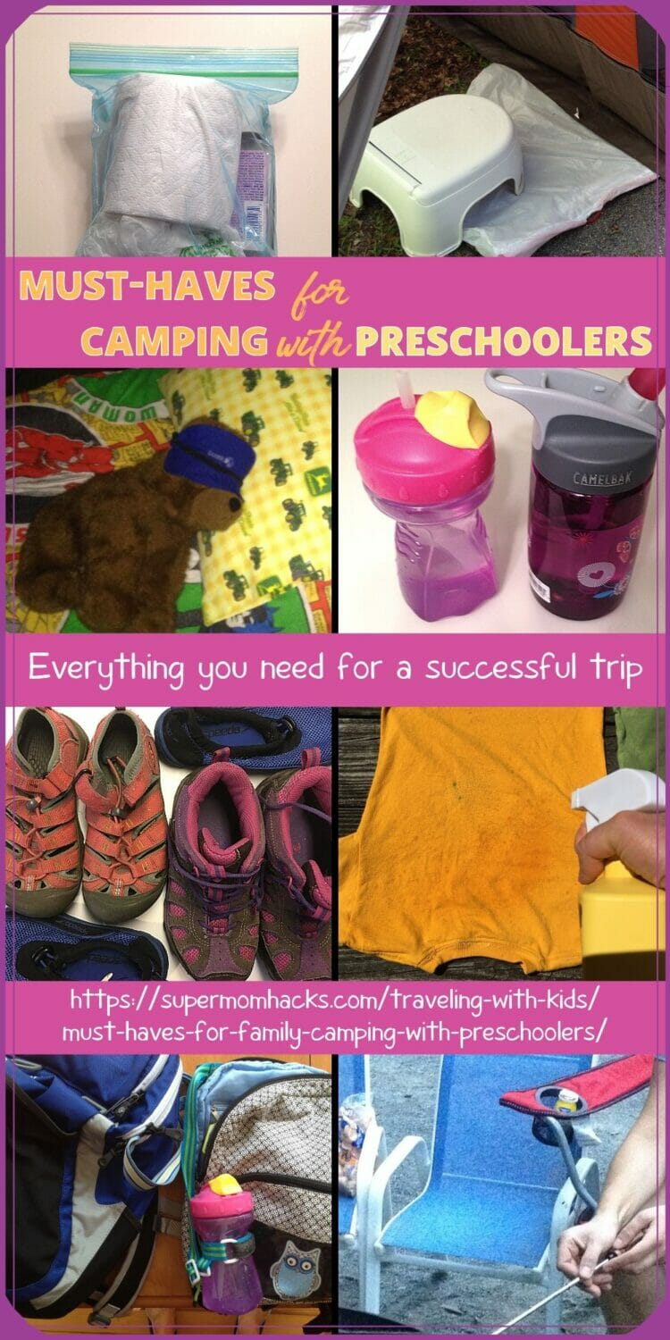 Must-Haves for Family Camping with Preschoolers