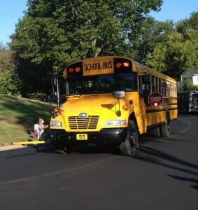 approaching bus