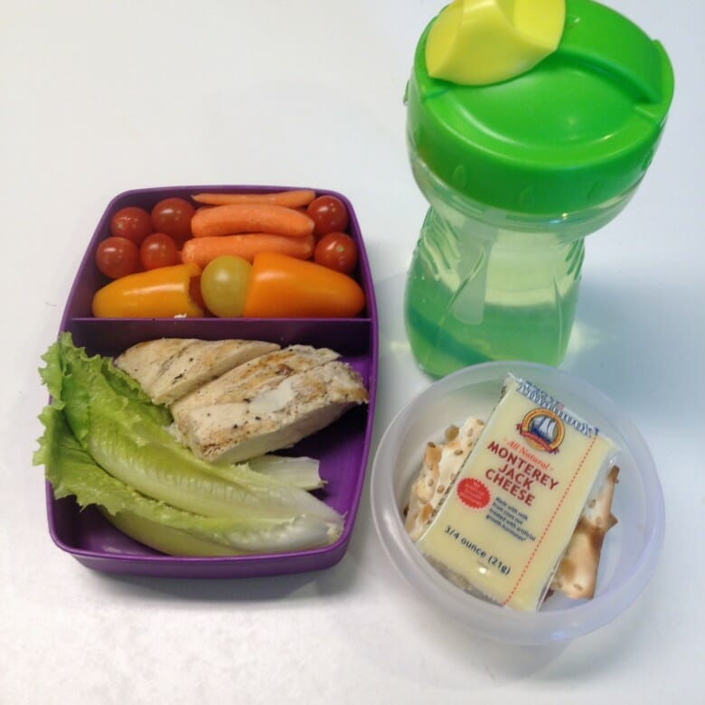 Essie's lunch for tomorrow