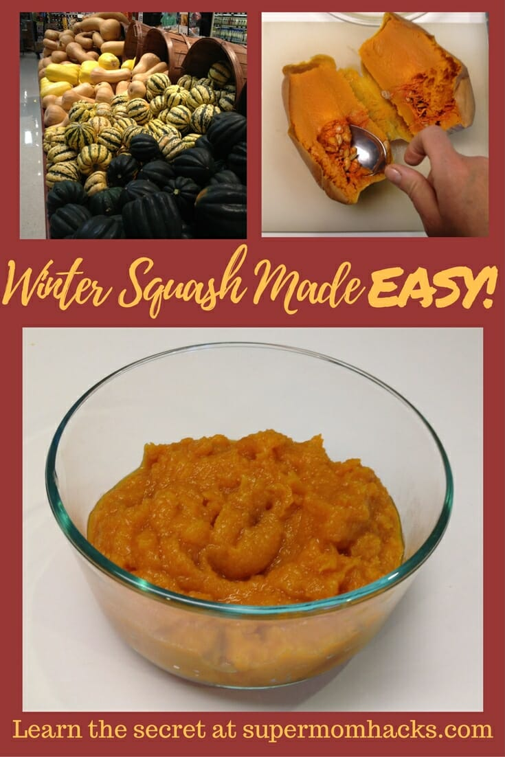 Need a quick, healthy side dish? Want something that Baby can easily eat with the rest of the family? Then learn this hack for microwaving winter squash!