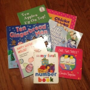 a few of the girls' favorite counting books