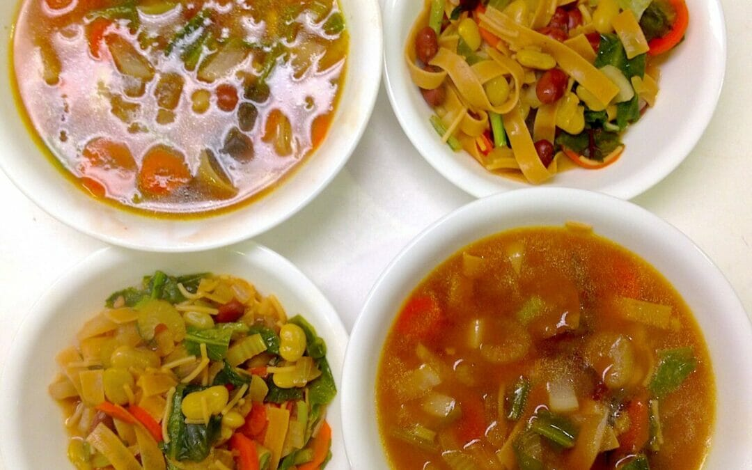 Need Comfort Food Fast? Try Kitchen-Sink Soup