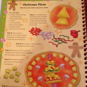 Christmas Pizza recipe