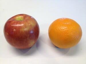 apple or orange