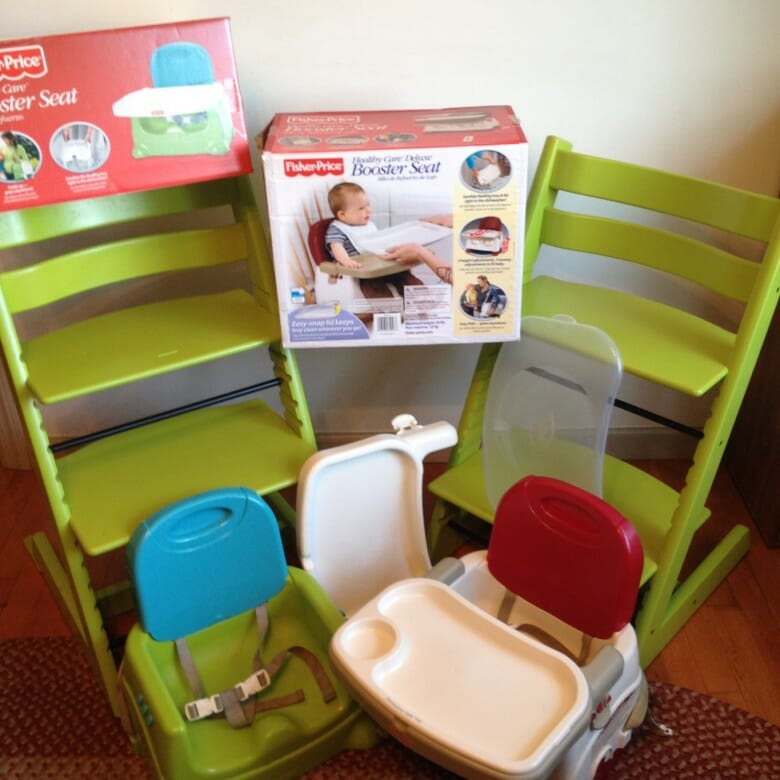 From my budget pick (the Fisher-Price Booster Seat) to my splurge (the Stokke Tripp Trapp Chair), these highchair/booster seat combos are the only ones you'll ever need.
