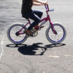 Yes, you can teach your kid to ride a bike in a day - this photo is proof - but success is not guaranteed.