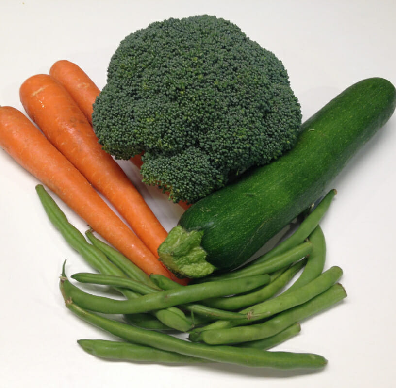 Ready to try microwave-steaming vegetables? Broccoli, carrots, zucchini,or green beans are all great places to start.