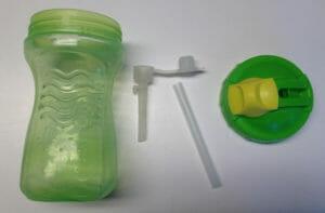 leakprof straw cup taken apart