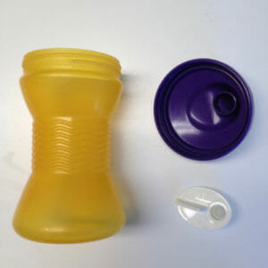 leakproof sippy cup disassembled