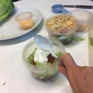 making-take-along-taco-salad