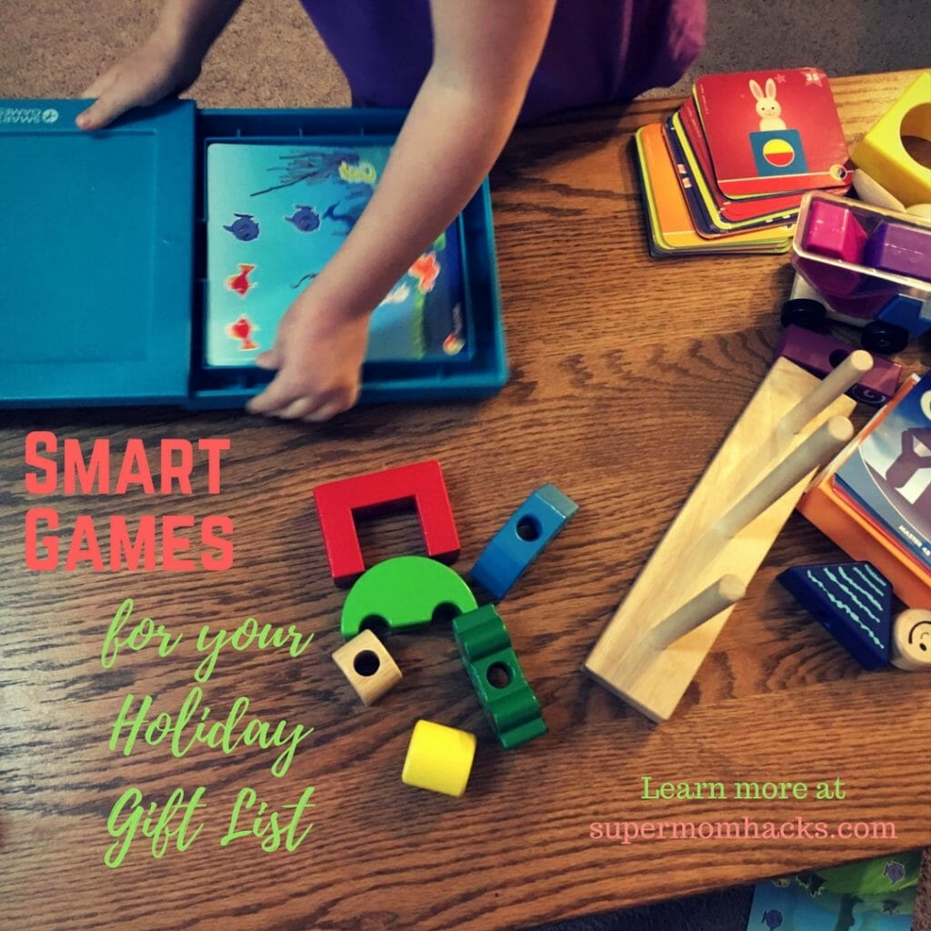 Looking for some super gift ideas for your little ones this holiday season? Try some Smart Games; they're a great way to have fun while building brains.