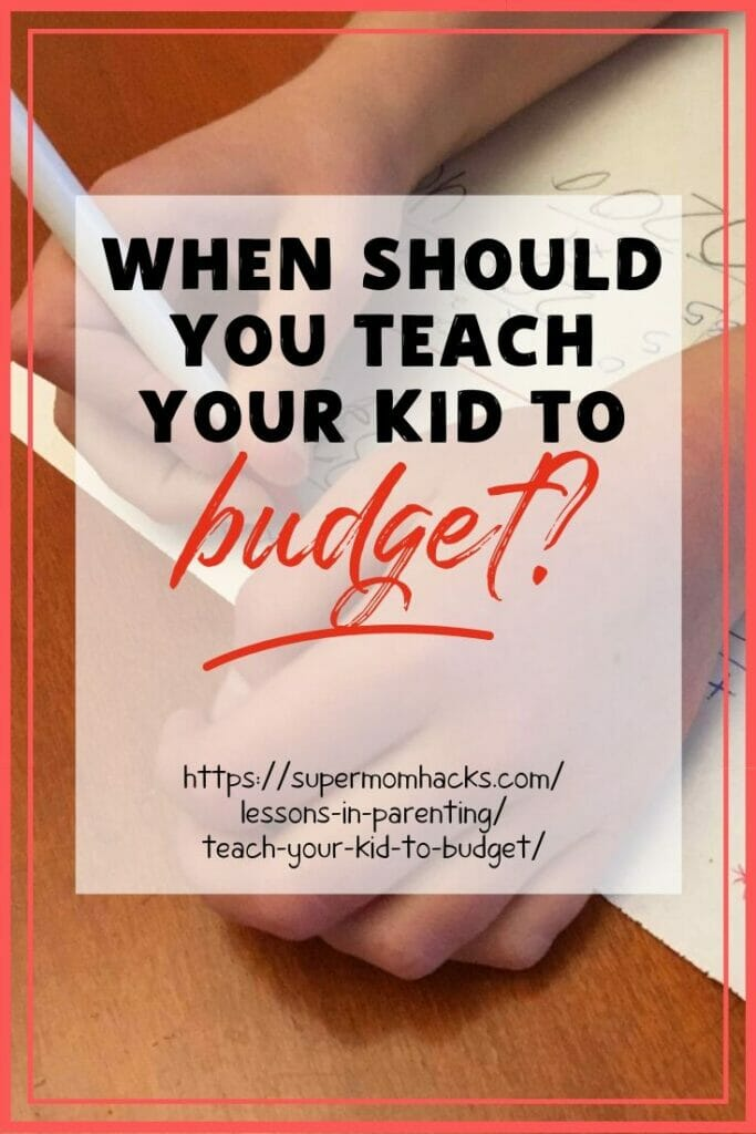 When is it time to teach your kid to budget? Before the stakes get too high. We learned this the hard way, and made it into a teachable moment. Here's how.