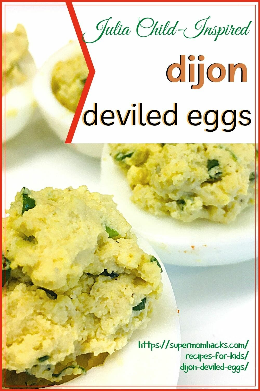 This delicious Dijon deviled eggs recipe is the perfect Easter appetizer - so easy that kids can make, yet elegant enough for holiday meals.