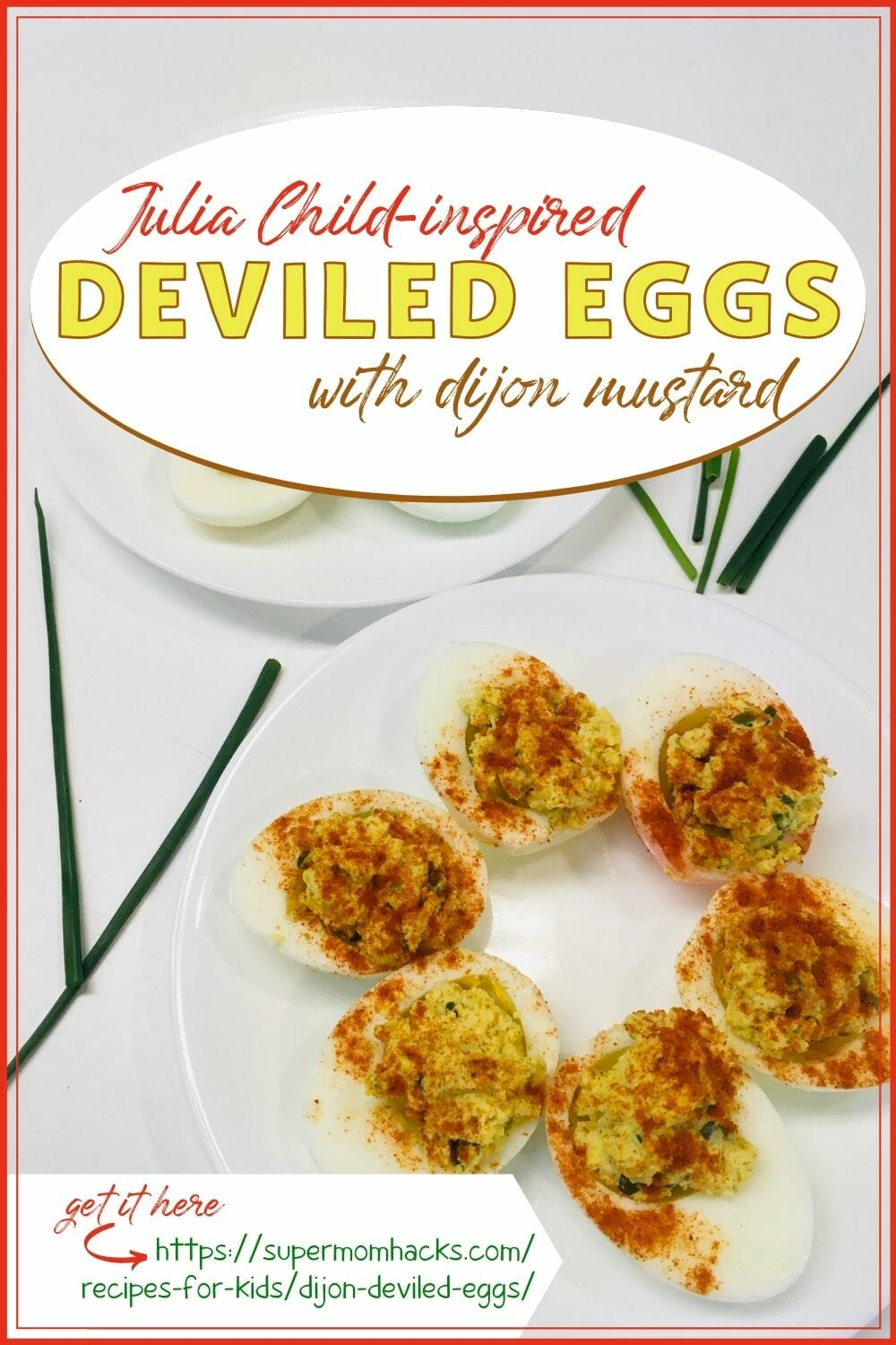 Julia Child-Inspired Dijon Deviled Eggs (Easter Appetizer)