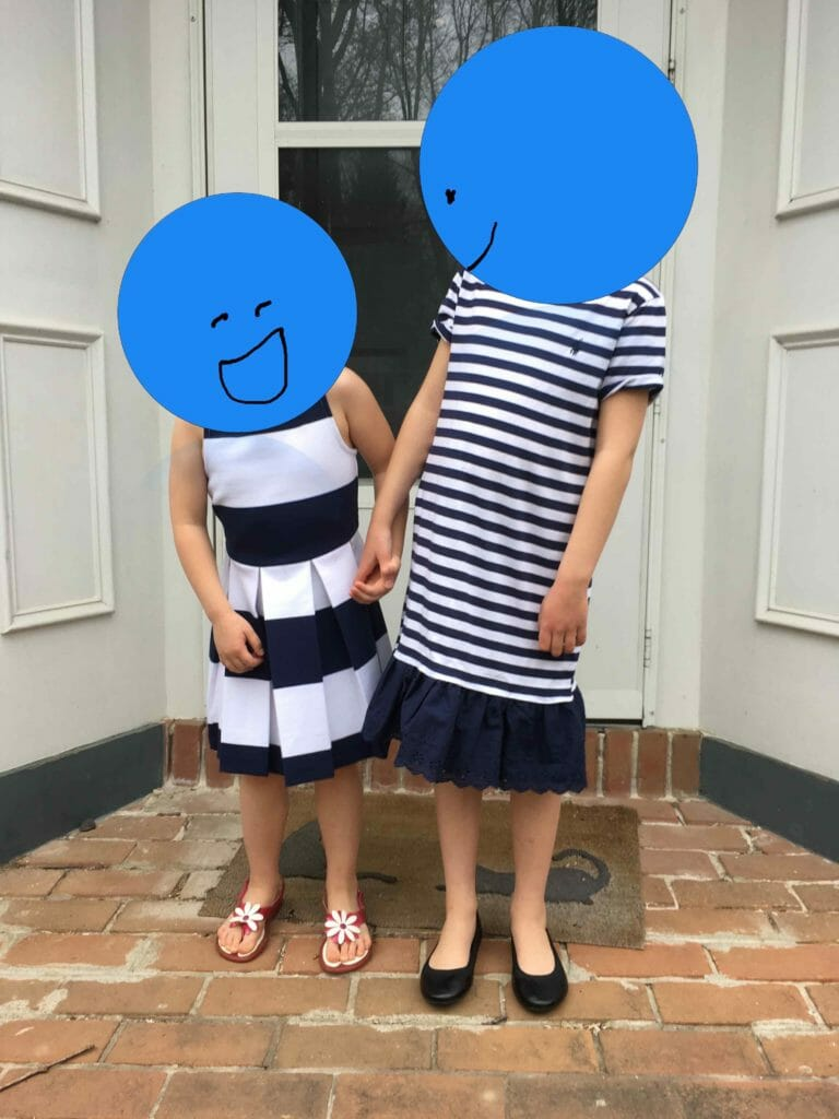 Some of you may have been wondering why, for a parenting blog, photos of my children are noticeably absent. This is why you won't see my kids' faces here.