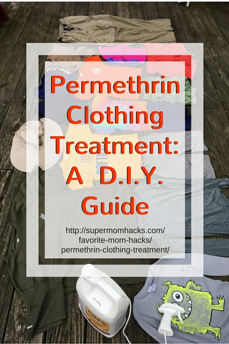 Want to give your family the best protection against ticks and mosquitoes this summer? DIY permethrin clothing treatment is easier than you'd think.