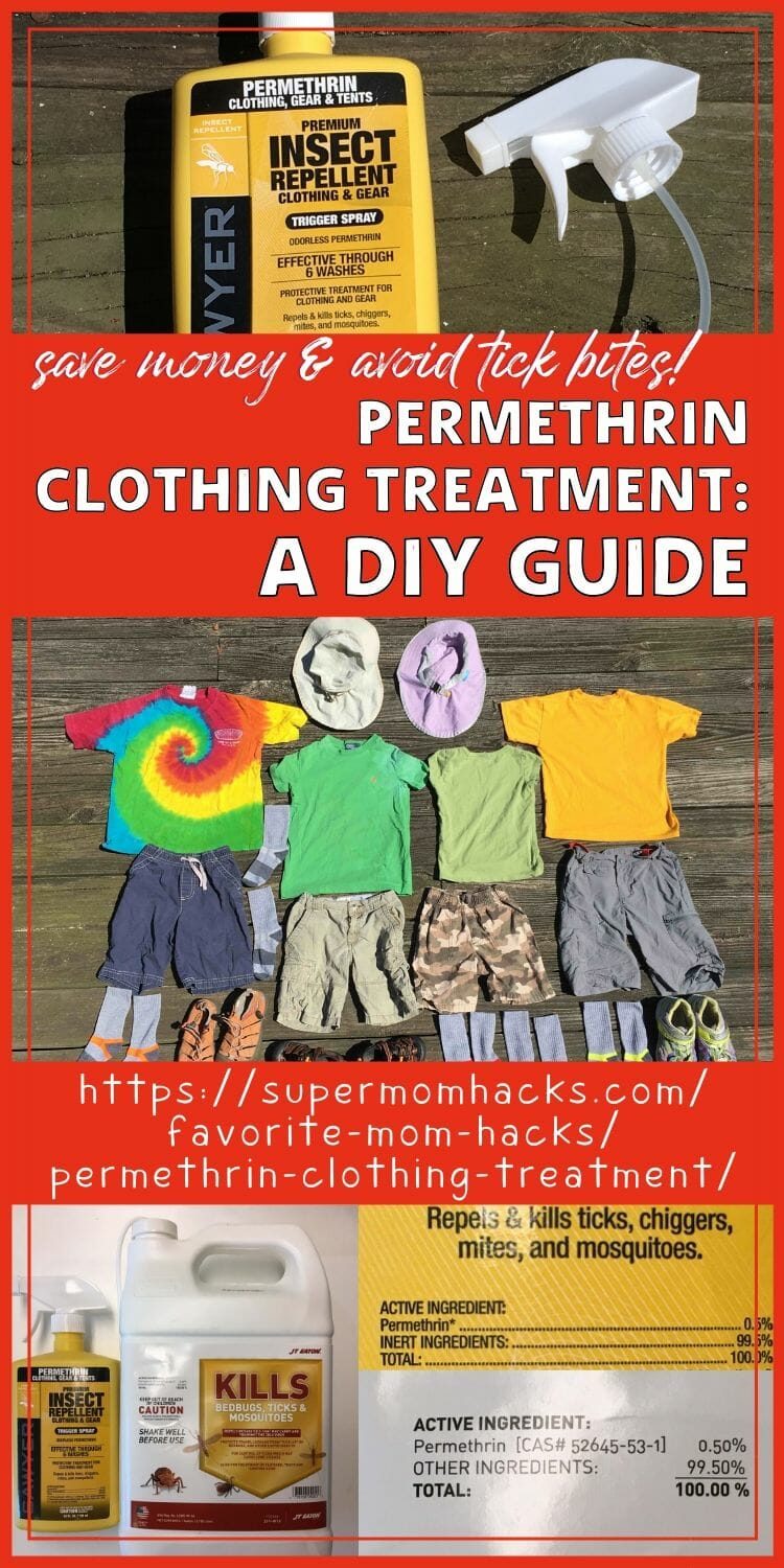 Permethrin Clothing Treatment:  A DIY Guide (Save Money!)