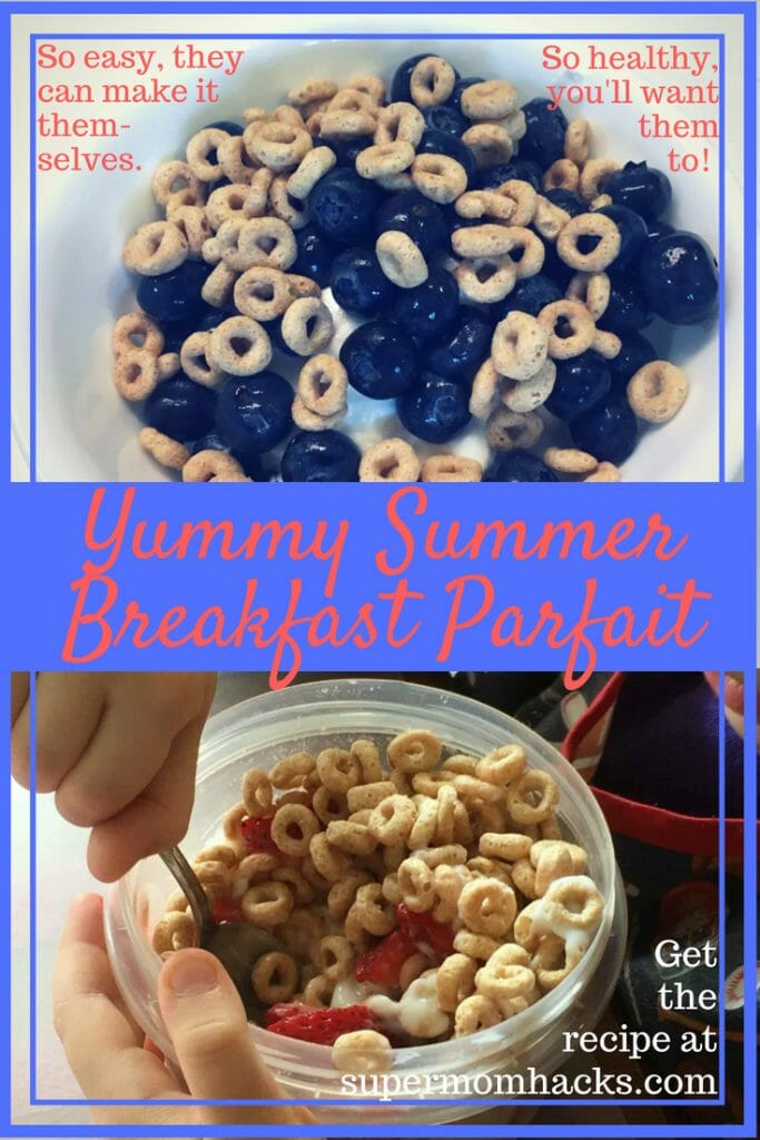 Want a breakfast that's quick, nutritionally well-rounded, delicious , and so easy your kid can make it? Then give Yummy Summer Breakfast Parfait a try.