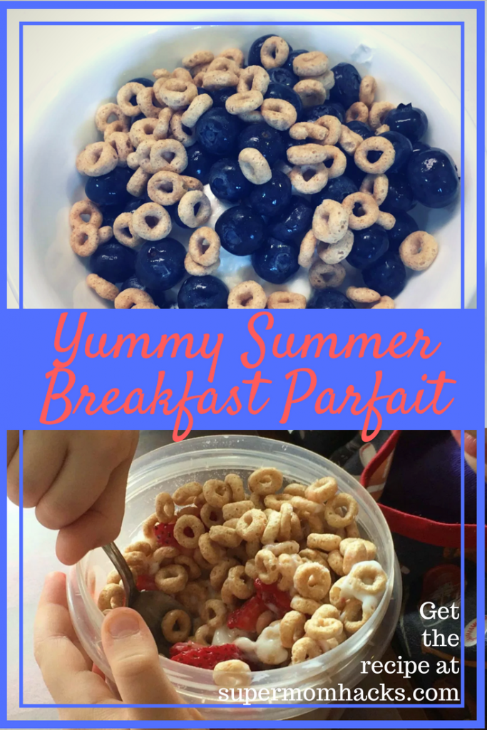 Want a breakfast that's quick, nutritionally well-rounded, delicious, and so easy your kid can make it? Then give Yummy Summer Breakfast Parfait a try.