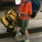 When Kimmie checked into sleep-away camp yesterday, her gear included lots of my family camping splurges. Which is why her luggage took up a fraction as much space as the other kids'.