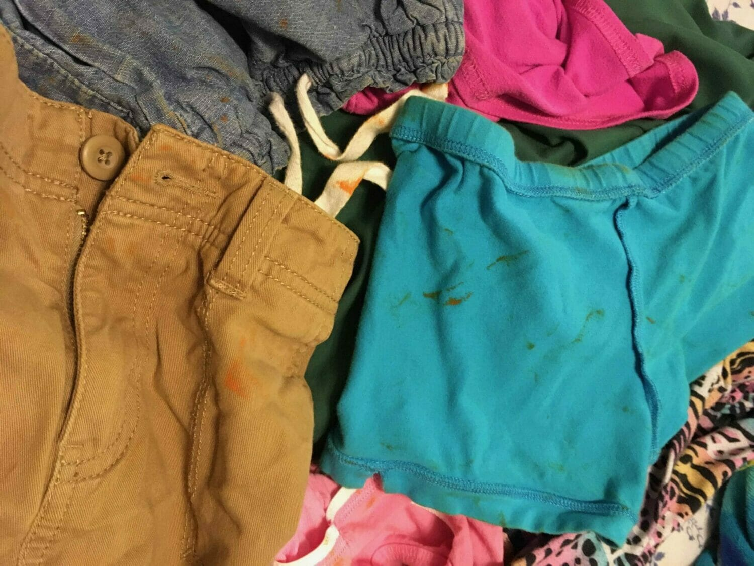 How To Get Melted Crayon Out Of Laundry