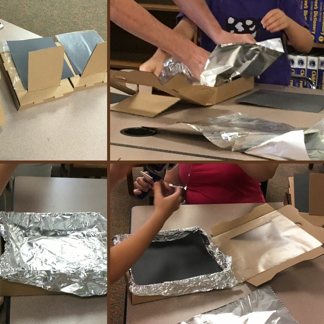 Looking for a fun and easy summer craft for your kids? Try making a s'mores solar oven with your kids for some tasty science-learning fun!