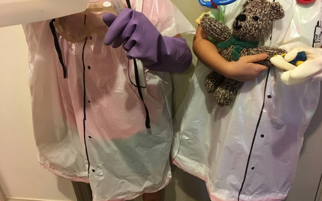 Halloween DIY: 15-Minute Costume for your Budding Scientist/Doctor/Vet