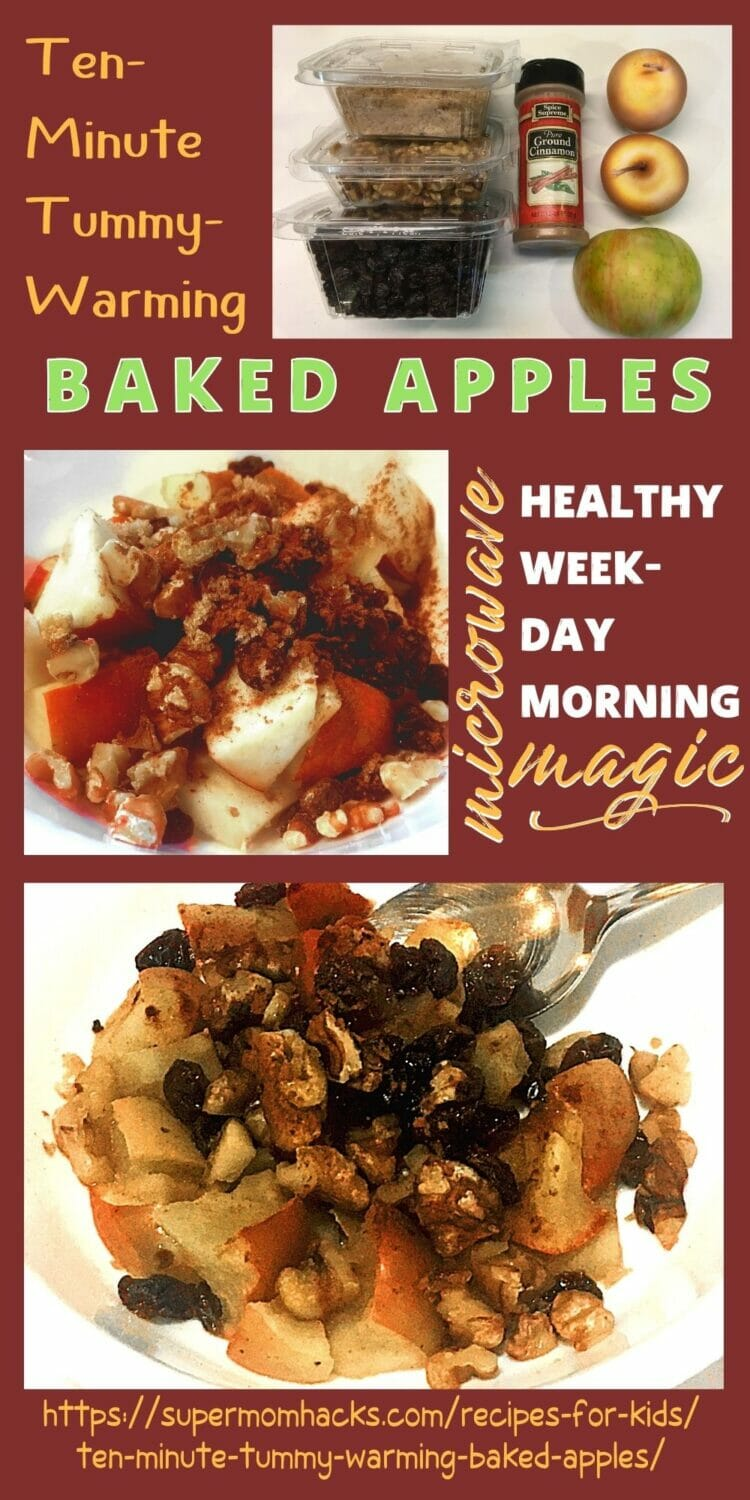Healthy Microwave Baked Apples Recipe (Ready in 10 Minutes!)