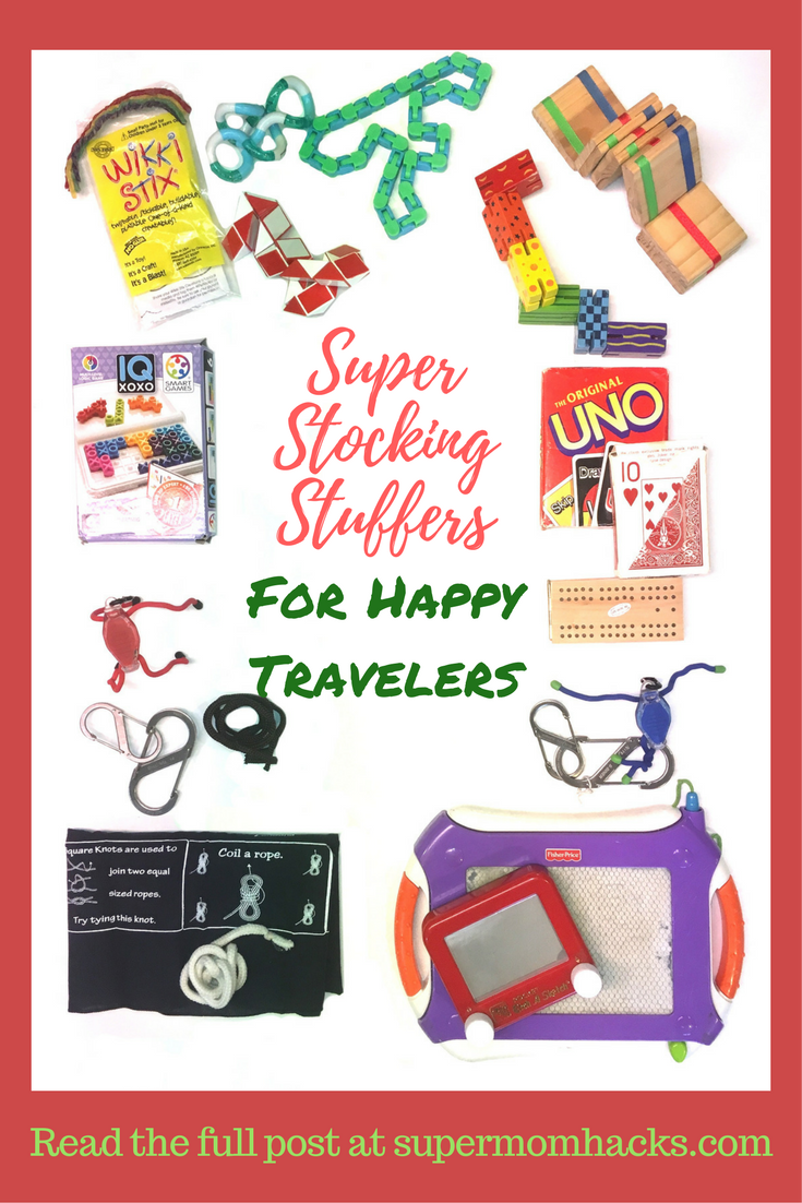 """Need some stocking-stuffer ideas for Christmas? Or a """"little something"""" for friends' kids at the holidays? These super stocking stuffers are under $10 each! Stocking stuffer ideas 
