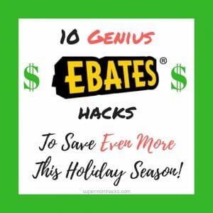10 Genius Ebates Hacks to Save EVEN MORE This Holiday Season