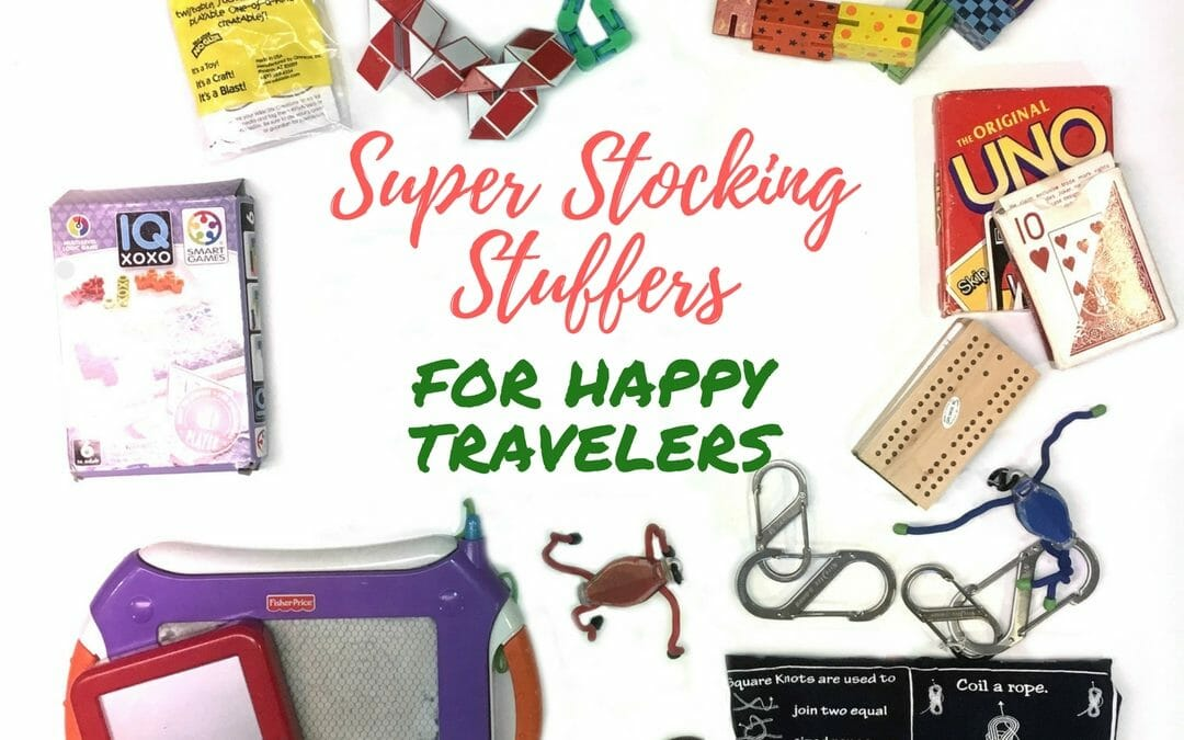 """Need some stocking-stuffer ideas for Christmas? Or a """"little something"""" for friends' kids at the holidays? These super stocking stuffers are under $10 each!"""