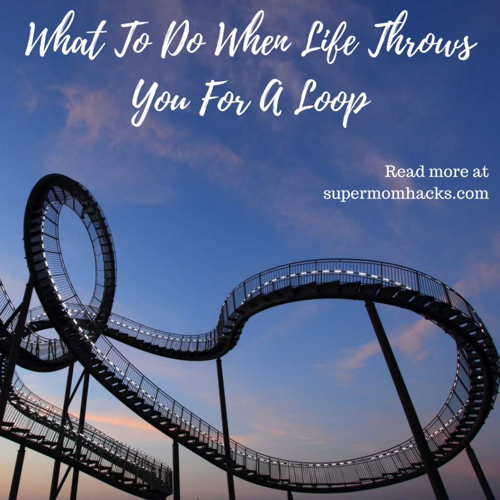 What do you do when life throws you for a loop? These tips help me manage whenever life gets crazy. Maybe they can help you through your next crisis, too.