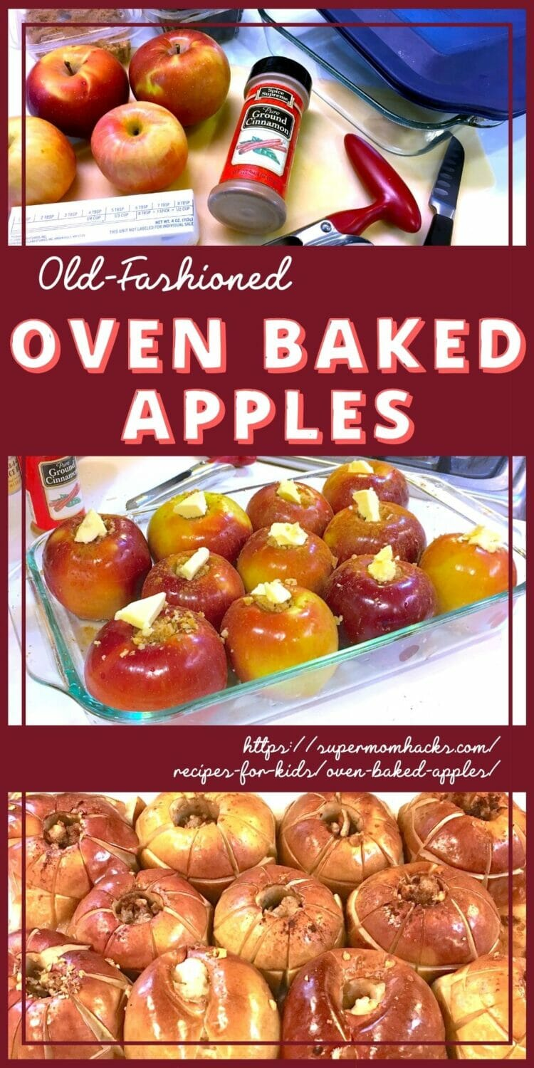 Old-Fashioned Oven Baked Apples Recipe (Easy & Healthy)