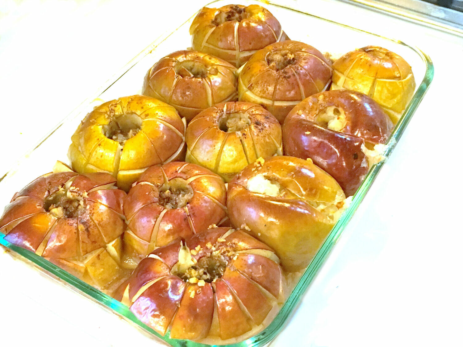 Old-fashioned oven baked apples are the perfect prep-ahead holiday breakfast or dessert whose aroma will warm your home and heart.