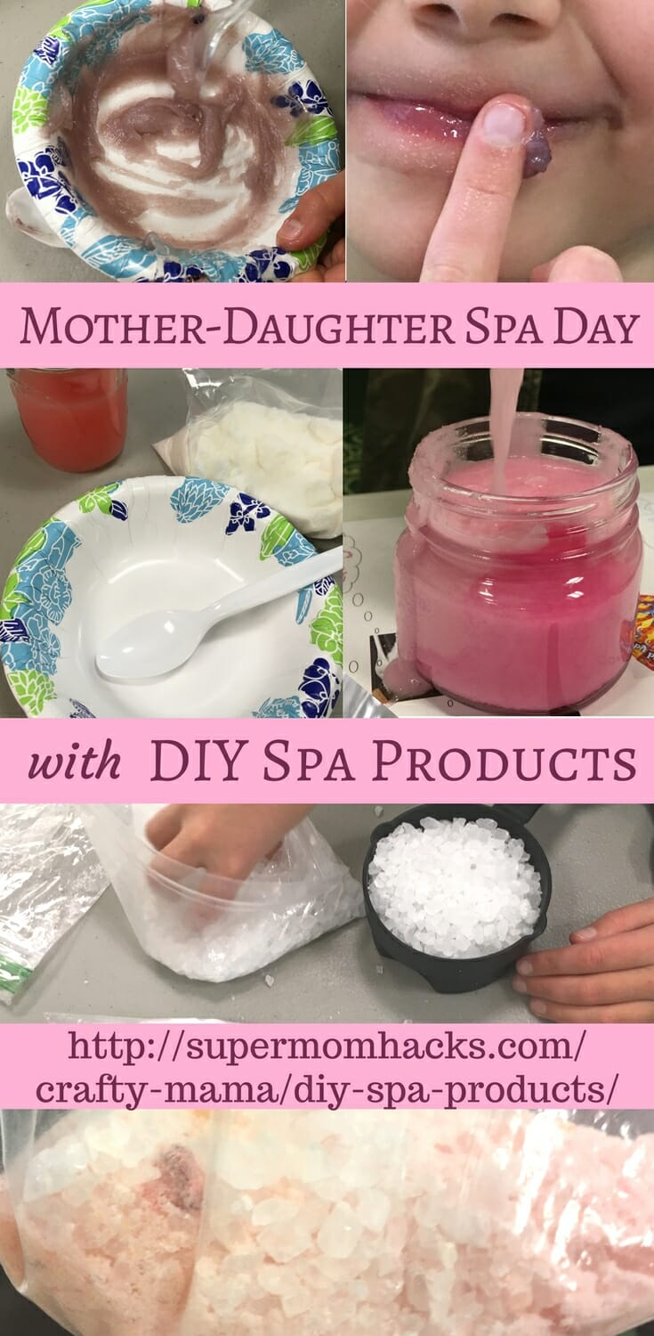Mother-Daughter Spa Day with DIY Spa Products