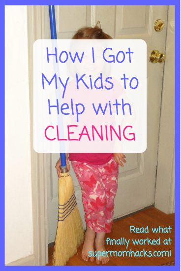 Do your kids help with cleaning? Or is getting them to pitch in a constant chore? My new secret weapon has finally got my kids happy to help with weekly housecleaning!