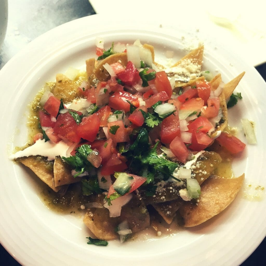 Looking for a fun brunch bar idea for your kids? Or a breakfast/hearty after-school snack they can make themselves? Then give chilaquiles a try, and savor the flavors of Mexican cuisine!