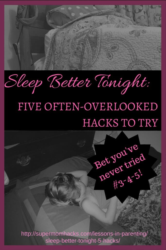 Want to sleep better tonight? I'm willing to bet you haven't even HEARD of #3-5, let alone tried them. They've helped me immensely; give them a go and you may sleep better, too!
