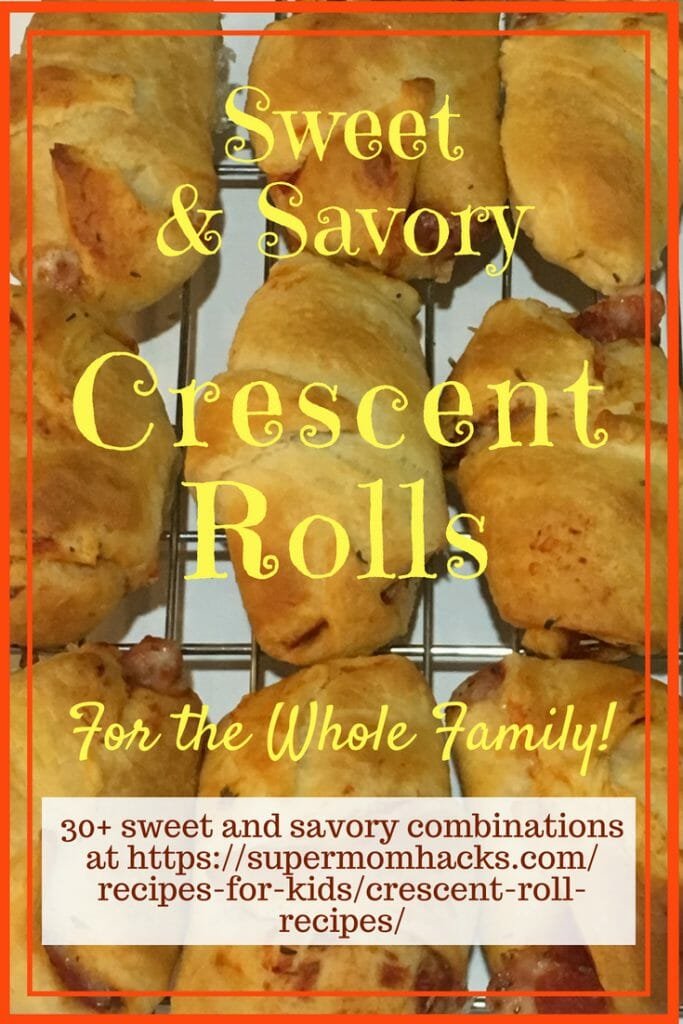 Need quick & easy ideas for make-ahead snacks, summer picnics, or school lunches? With over 25 options, this list of crescent roll recipes has you covered!