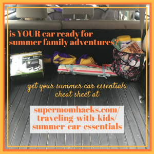 Got your car summer-ready for family adventures? With these summer car essentials, you're set for whatever you and your littles might encounter.