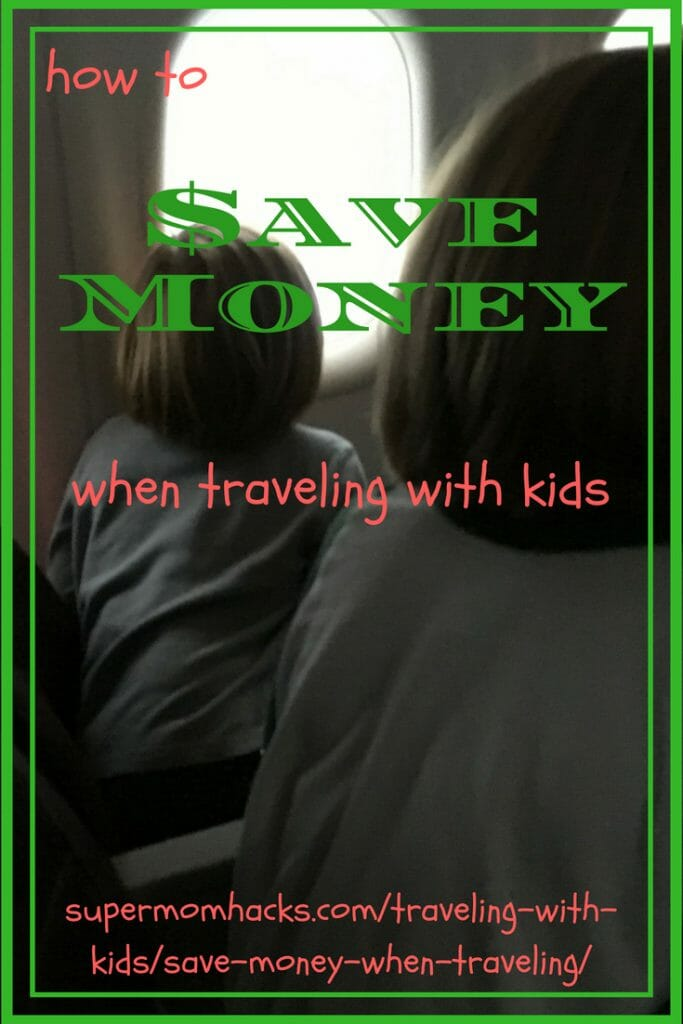 Traveling with kids doesn't have to break the bank. These hacks have helped us save money when traveling with kids over the years; how much will YOU save?
