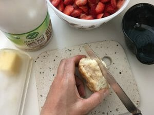 Have you ever had a homemade strawberry shortcake? If not, you're in for a real treat when you try my dad's Ultimate Homemade Strawberry Shortcake recipe.
